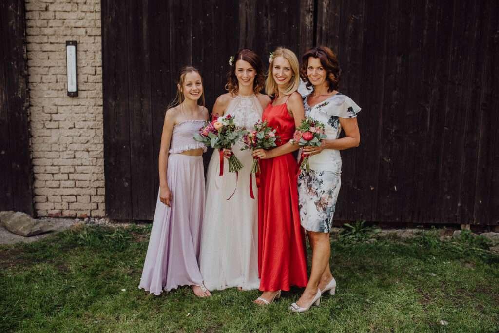 Focení skupinek svatba | svatební fotky Brno